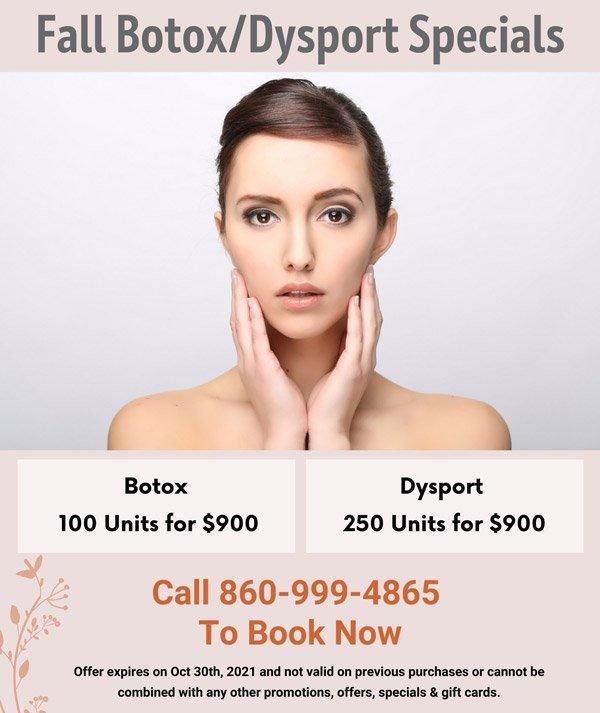Fall Botox/Dysport Special
